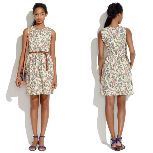 Madewell Dresses & Skirts - Madewell Garden Vines Dress